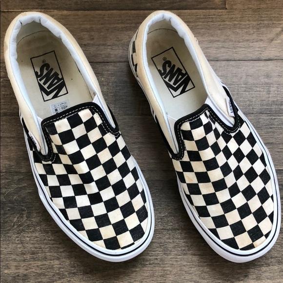 89b386209c38a8 Shoes And Black Black Black White Poshmark Checkerboard Checkerboard  Checkerboard Checkerboard Vans Ftw7dpqw